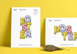 Free Templates For Posters 30 Poster Mockup Psd Templates To Showcase Your Designs Super Dev