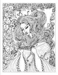 Small Picture Complex coloring pages of girl ColoringStar
