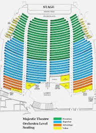 The Majestic Seating Chart Crouse Hinds Theater Seating
