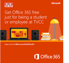 office com free tvcc offers students and employees office 365 for free