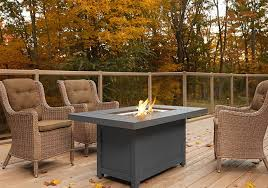 napoleon hamptons rectangle patioflame table