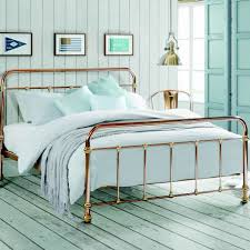Copper And Brass Vintage Style Bed - beds