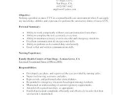 Lpn Resume Template Stunning Cover Letter Examples For Lpn Amere