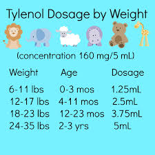 Infant Acetaminophen Dosage Chart 160mg 5ml Tips On Survival With A Sick Baby
