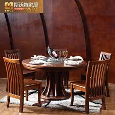 get ations swot wood dining table dining table round table special offer free post modern chinese restaurant