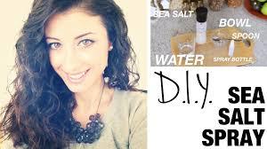Salt spray for curly hair