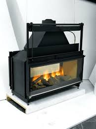 two sided wood burning fireplace two sided fireplace indoor outdoor two sided fireplace indoor outdoor double