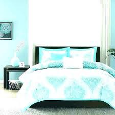 light blue comforter turquoise set queen king brown sets