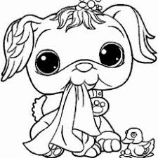 Littlest Pet Shop Coloring Pages To Color Online For Free Coloring