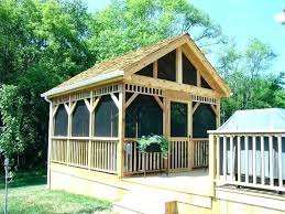 gazebo plans with fireplace outdoor
