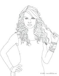 Famous Singers Coloring Pages At Getdrawingscom Free For Personal