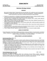 Profile A High Capacity With Business Analyst Resume Templates And