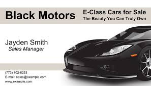 Car Dealer Business Cards | Best-Selling Card Designs