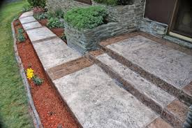 Decorative Concrete Overlay Stamped Concrete Overlay Columbus Ohio Redeck Of Central Ohio