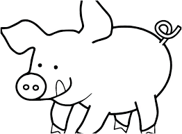 Peppa Pig Colouring Pages Printable Pig Coloring Pages Printable Pig