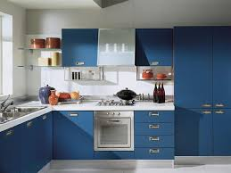 blue kitchen designs. Simple Kitchen Kitchen Should Have Enough And Easy To Use Shelves For Best Ergonomic Use  The Racks Cabinets In This Design Are So Practical As Well Sophisticated To Blue Designs I