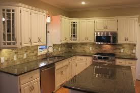 kitchen cabinets with granite countertops inspirational antique white kitchen cabinets with black granite countertops