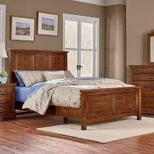 Artisan Choices Panel Bedroom Set (Amish Cherry) Vaughan Bassett |  Furniture Cart