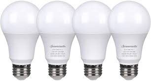 5000k Led Light Bulbs 60w Equivalent Daylight A19 Led Light Bulb 4 Pack Pogot