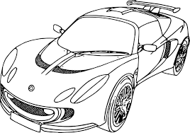 Coloriage Voiture Ford Imprimer