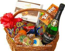 gift baskets to romania