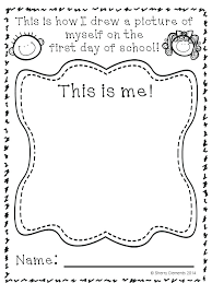 first school coloring pages day of kindergarten page elegant back play colouring printable