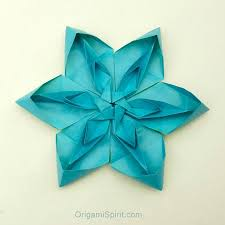 Paper Origami Flower Making How To Make A Tessellated Origami Flower