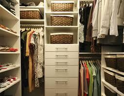 basic walk in closet