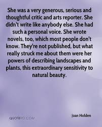 Describing Her Beauty Quotes Best of Joan Holden Quotes QuoteHD