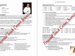 Chef Resumes Examples Best Of Hospitality Resume Objective Examples Cake Sample Of Personal Chef