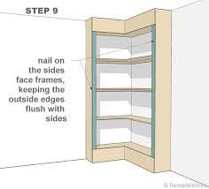 Building Corner Shelves 100 Build Corner Shelves Plans For Building Pantry Shelves Quotes 11