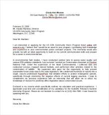 Internship Cover Letter Sample Pdf Adriangatton Com