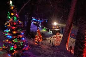 Holiday Lights Train Wilmington Western Railroad Delawares Operating