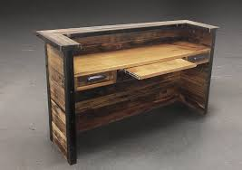 nice modern reclaimed wood desk furniture best regarding office cool wood desk ideas d3 desk