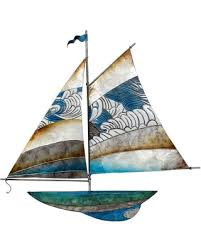 metal and capiz sailing ship wall art on yacht metal wall art with check out these hot deals on metal and capiz sailing ship wall art