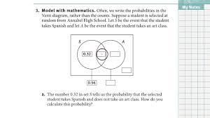 Venn Diagram Examples For Math 39 1 Using A Venn Diagram To Represent A Sample Space Youtube