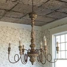 farm style chandelier kitchen farmhouse foyer