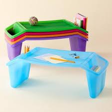 kids arts crafts kids plastic lap tray desks monogram for girls w cricuit