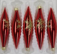 Feinster Christbaumschmuck Aus Glas Weihnachtskugeln Weihnachtsbaumschmuck Rot