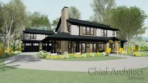 Chief Architect Home Designer Modern Bungalow