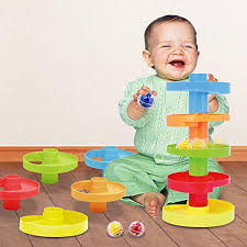 WEofferwhatYOUwant Educational Ball Drop Toy for Kids - Spinning Swirl Ramp 2 Sets Activity Best Gifts 6 Month Old Boy: Amazon.com