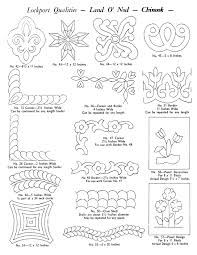 Lockport Hand Quilting Pattern Catalog – Q is for Quilter & Lockport Hand Quilting Pattern Catalog Adamdwight.com