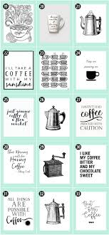 180 Coffee Free Printables The Ultimate