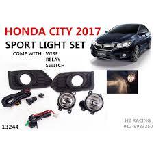 Honda City 2017 2018 Sport Light Fog Lamp Sportlight Set