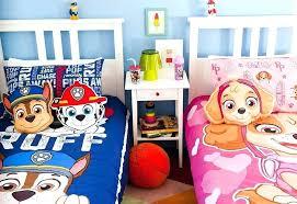 paw patrol toddler bed set paw patrol bed paw patrol bedroom for boys and girls paw paw patrol toddler bed set