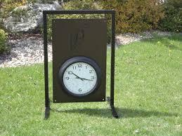 custom golf clock sign ptarmigan