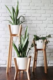 ... amusing Planters, Indoor Pots For Plants Planter Ideas Indoor Plant  Satnds Diy Plant Satnd White Pot ...