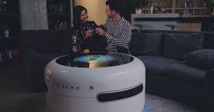 smart coffee table packs in the techy