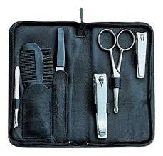 Купить маникюрный набор 9868gar (<b>ножницы для стрижки усов</b> + ...