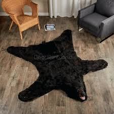 black bear rugs how much does a real bear skin rug cost faux bear skin rug canada faux bear skin rug white